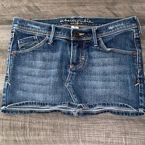 Girls Abercrombie kids 10 Jean skirt denim 1892